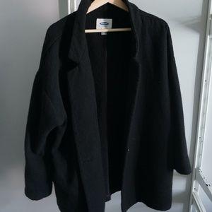 Old Navy Black Pea Coat